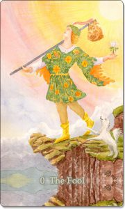 The Fool is the first card of the Major Arcana.