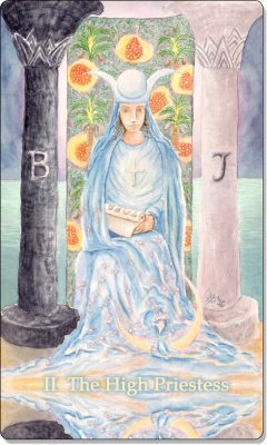 What is the meaning of The High Priestess Tarot Card?