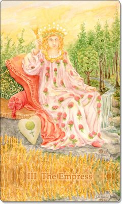 What is the meaning of III The Empress Tarot Card?