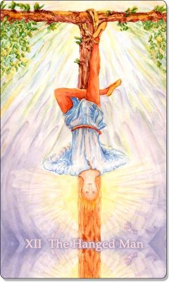 What is the meaning of XII The Hanged Man Tarot Card?