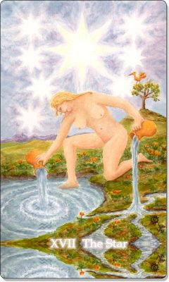 What is the meaning of XVII The Star Tarot Card?