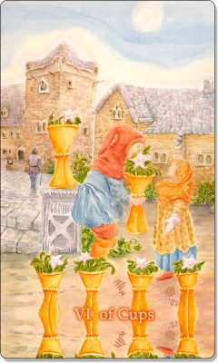 What is the meaning of VI Of Cups Tarot Card?