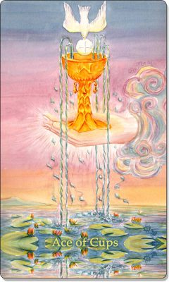 What is the meaning of the Ace of Cups Tarot Card?