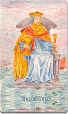 What is the meaning of King Of Cups Tarot Card?