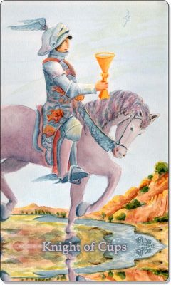 What is the meaning of Knight Of Cups Tarot Card?