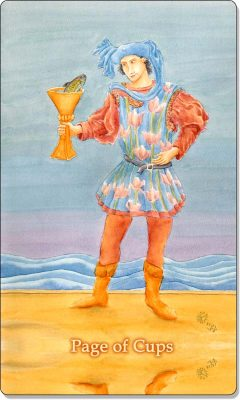 What is the meaning of Page Of Cups Tarot Card?
