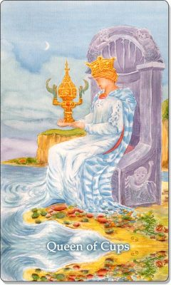 What is the meaning of Queen Of Cups Tarot Card?