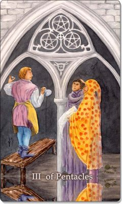 What is the meaning of III Of Pentacles Tarot Card?