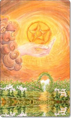 What is the meaning of Ace Of Pentacles Tarot Card?