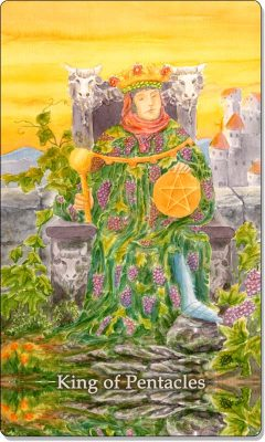 What is the meaning of King Of Pentacles Tarot Card?