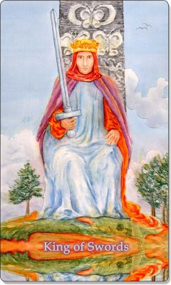 What is the meaning of King of Swords Tarot Card?
