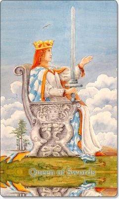 What is the meaning of Queen of Swords Tarot Card?